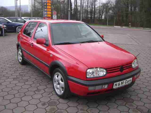 volkswagen golf 2 8 vr6 leder automatik re neue. Black Bedroom Furniture Sets. Home Design Ideas
