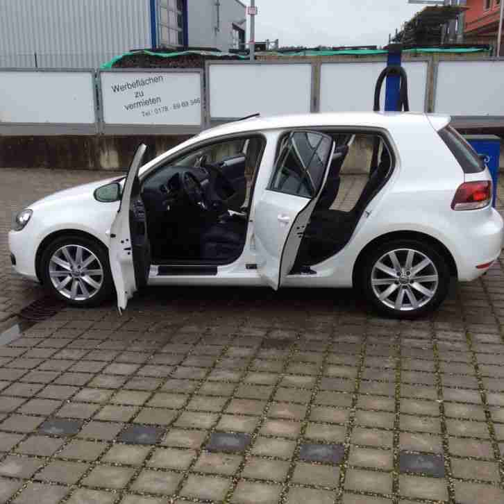 volkswagen golf 6 highline 122ps 1 4 tsi neue positionen volkswagen pkw. Black Bedroom Furniture Sets. Home Design Ideas