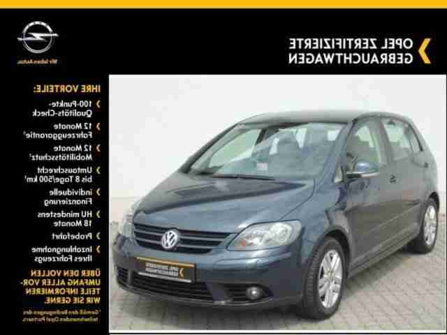 Golf Plus 1.9 TDI DPF Tour Klimaaut.,
