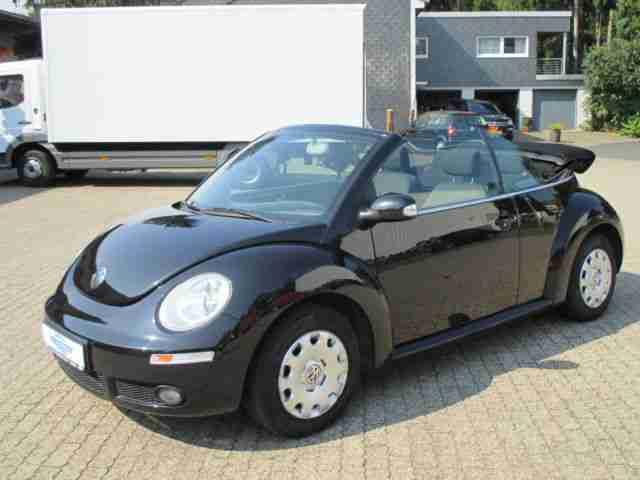 volkswagen new beetle cabriolet 1 4 klima neue. Black Bedroom Furniture Sets. Home Design Ideas