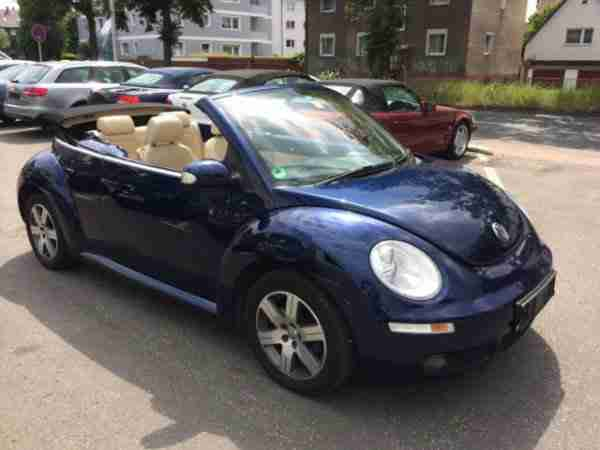 New Beetle Cabriolet 1.9 TDI 1.HAND BEIGE LE
