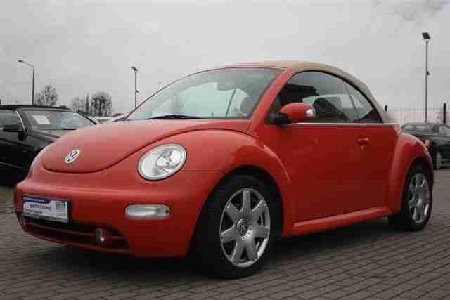 volkswagen new beetle cabriolet 2 0 highline neue. Black Bedroom Furniture Sets. Home Design Ideas