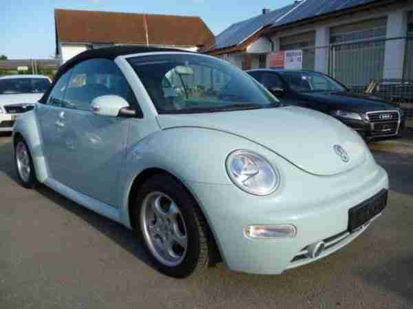New Beetle Cabriolet 2.0 Highline Leder Alu