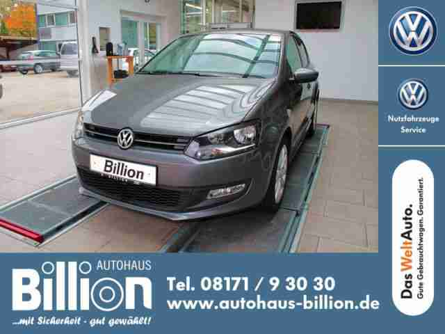 "Volkswagen Polo V 1.2 ""TEAM"" // ""TEAM PLUS""-Paket"