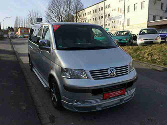 Volkswagen VW T5 Umbau Business VIP Voll Leder DVD Tv. Navi Klima Super Konform