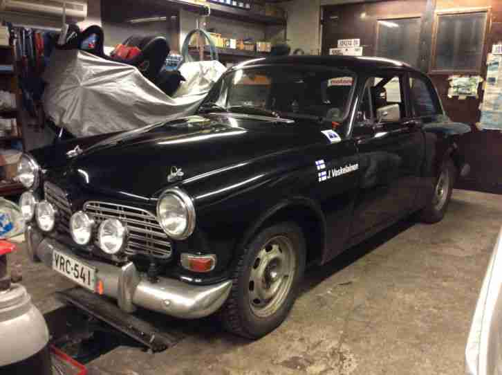 Volvo 122S Historic rally rennwagen