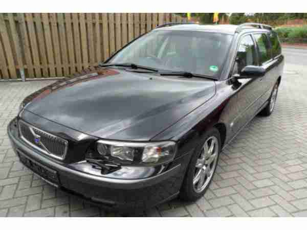 Volvo V70 D5 Black Edition, AHK abn. bar, Navi