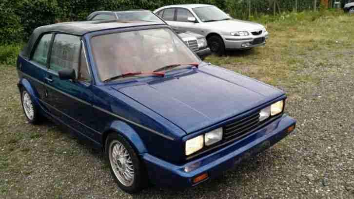vw golf 1 cabrio 155 oldtimer h bj 1985 sehr topseller oldtimer car group. Black Bedroom Furniture Sets. Home Design Ideas