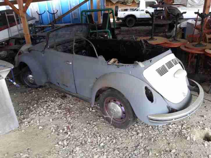 vw k fer 1302 cabrio scheunenfund topseller oldtimer car. Black Bedroom Furniture Sets. Home Design Ideas