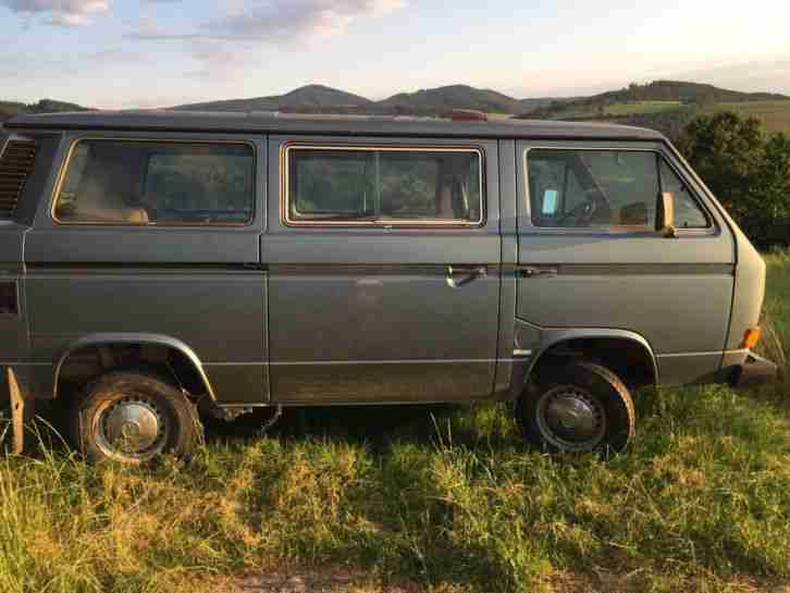 Vw Syncro Bus Allrad Typ 255 Caravelle