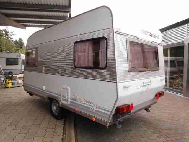 wohnwagen dethleffs camper 430t zwei wohnwagen wohnmobile. Black Bedroom Furniture Sets. Home Design Ideas