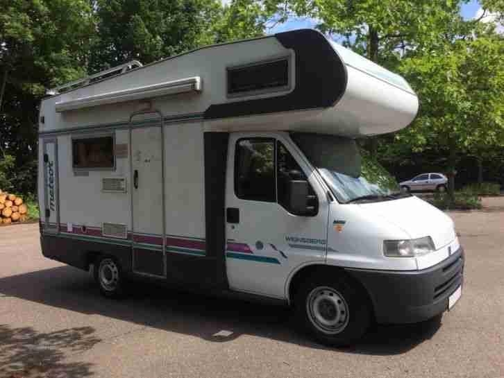 weinsberg meteor 530 alkoven 2 5 tdi wohnwagen wohnmobile. Black Bedroom Furniture Sets. Home Design Ideas