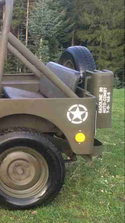Willys Jeep M38 Mb Cj M201 Aufkleber Komplettset