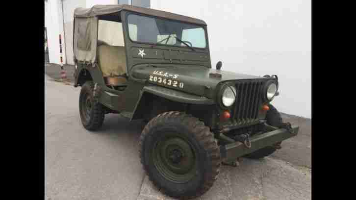 Willys Jeep M38 Original