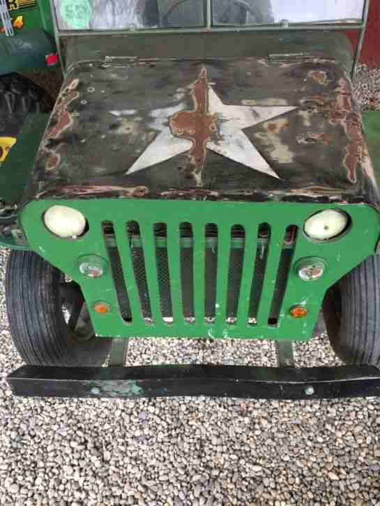 Willys Jeep für Kinder 1, 50 x 0, 70 m