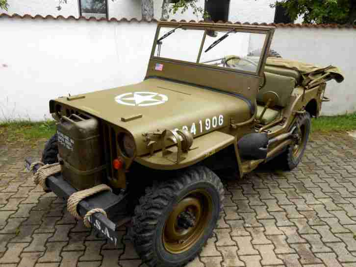 Willys Overland MB 1945 kein Ford GPW oder