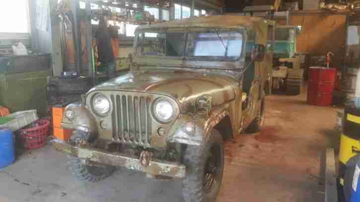 Willys jeep M38 A1 M170 Frontliner Ambulance