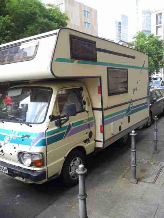 hanomag al 28 wohnmobil wohnwagen wohnmobile. Black Bedroom Furniture Sets. Home Design Ideas