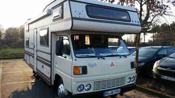 Wohnmobil Alkhoven Mitsubishi Canter T V 1 16 Wohnwagen