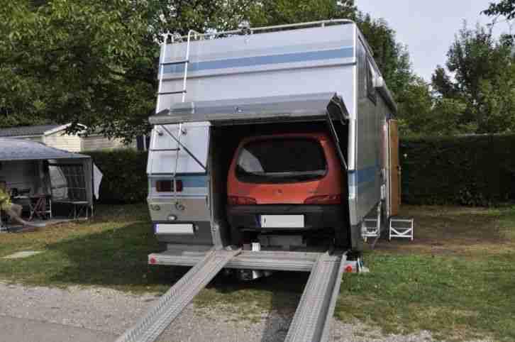 Wohnmobil Bawemo 7 49 Tonnen Mit Heckgarage Wohnwagen