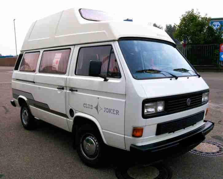 wohnmobil campingwagen vw t3 club joker wohnwagen. Black Bedroom Furniture Sets. Home Design Ideas