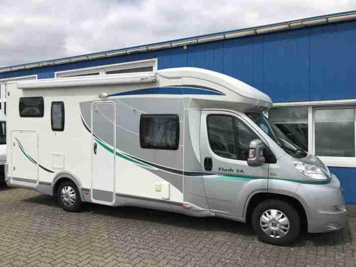 wohnmobil chausson flash 26 nur 60000 km t v wohnwagen. Black Bedroom Furniture Sets. Home Design Ideas