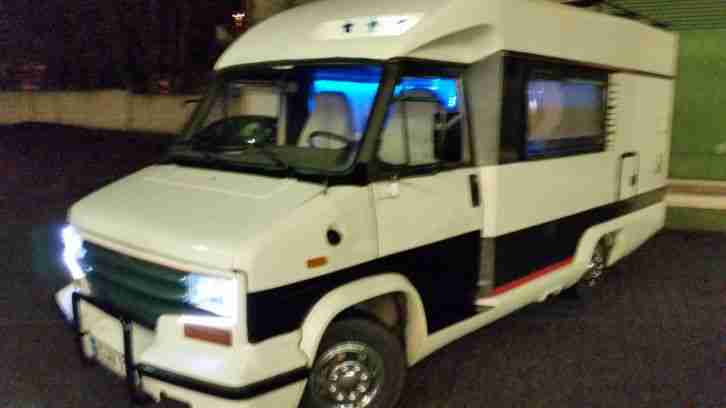 wohnmobil fiat 280 l dethleffs 570 diesel wohnwagen. Black Bedroom Furniture Sets. Home Design Ideas