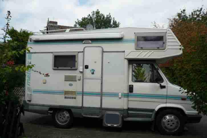 wohnmobil fiat ducato 280 td mit motorschaden wohnwagen wohnmobile. Black Bedroom Furniture Sets. Home Design Ideas