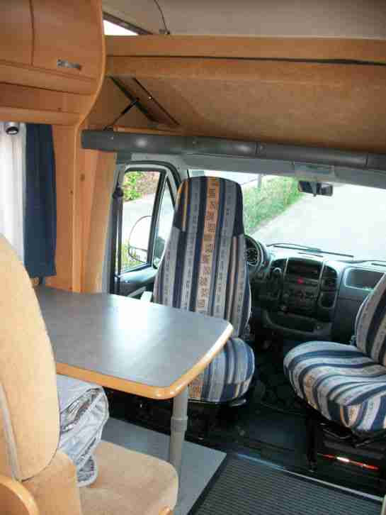 wohnmobil fiat ducato bj 2005 km tec wohnwagen. Black Bedroom Furniture Sets. Home Design Ideas