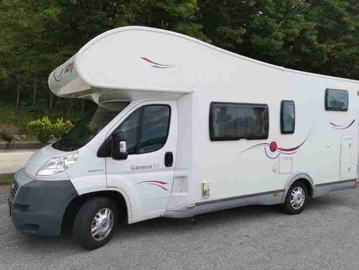 Wohnmobil Fiat Ducato Challanger Pers 6 zug