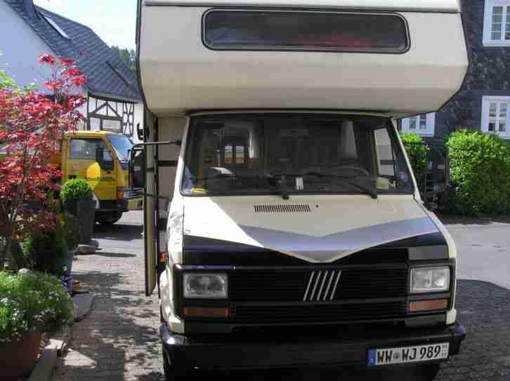 wohnmobil fiat ducato diesel wohnwagen wohnmobile. Black Bedroom Furniture Sets. Home Design Ideas