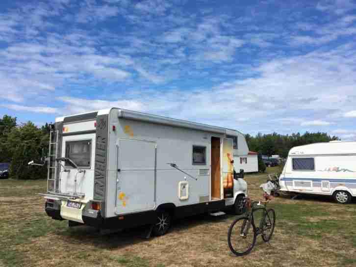 Wohnmobil Fiat Knaus Traveller 2 5 D Wohnwagen