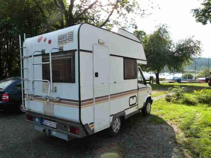 wohnmobil heku460 diesel cass wc servo wohnwagen. Black Bedroom Furniture Sets. Home Design Ideas