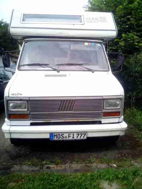Wohnmobil Heku 580 Mit Ahk Mit Neu T V Wohnwagen