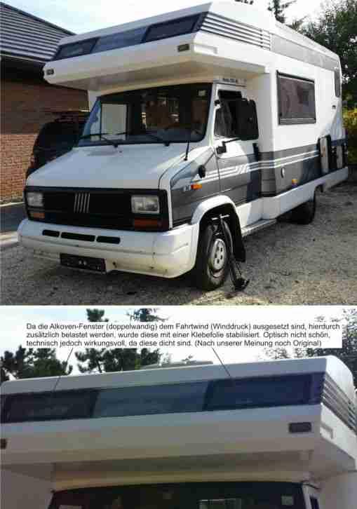 wohnmobil hobby ak 550 fiat diesel 55 kw 75 ps wohnwagen wohnmobile. Black Bedroom Furniture Sets. Home Design Ideas
