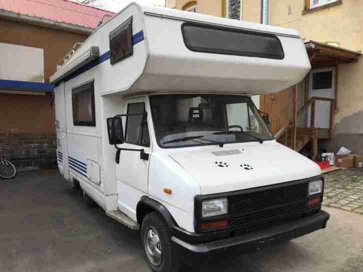 wohnmobil hymer fiat ducato 2 5 diesel t v neu. Black Bedroom Furniture Sets. Home Design Ideas