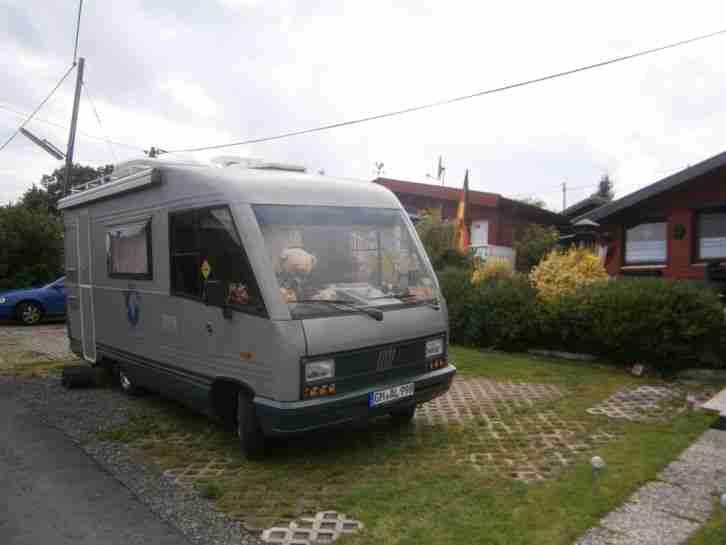 wohnmobil intregiert dethleffs euro3 wohnwagen. Black Bedroom Furniture Sets. Home Design Ideas