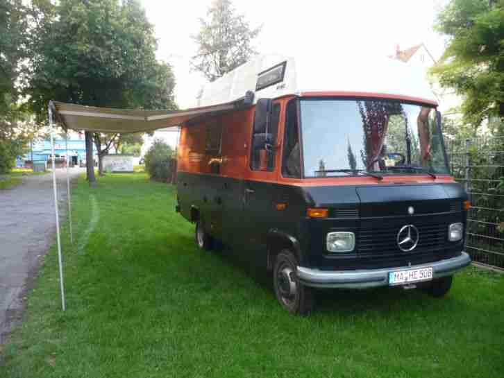 Wohnmobil Mercedes Benz 508 Diesel T V Neu Bj Wohnwagen