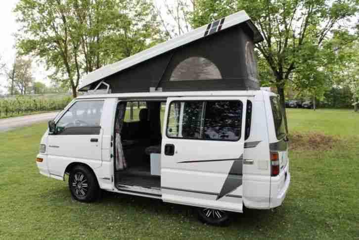 wohnmobil mitsubishi l300 wohnwagen wohnmobile. Black Bedroom Furniture Sets. Home Design Ideas
