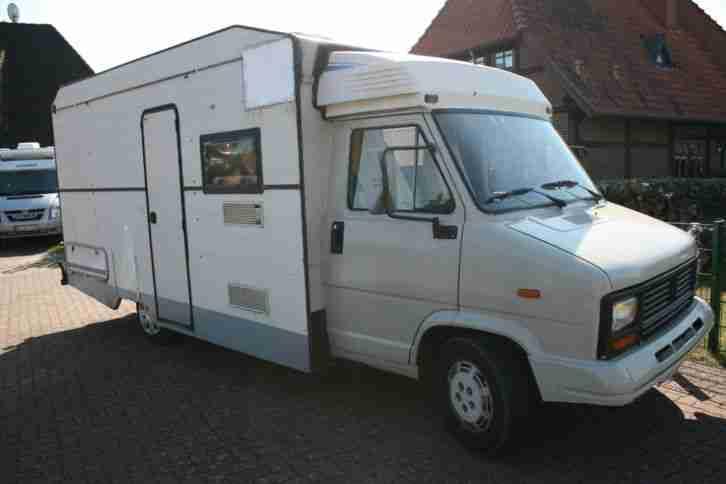 wohnmobil peugeot j5 conti mobil 75 ps diesel wohnwagen. Black Bedroom Furniture Sets. Home Design Ideas