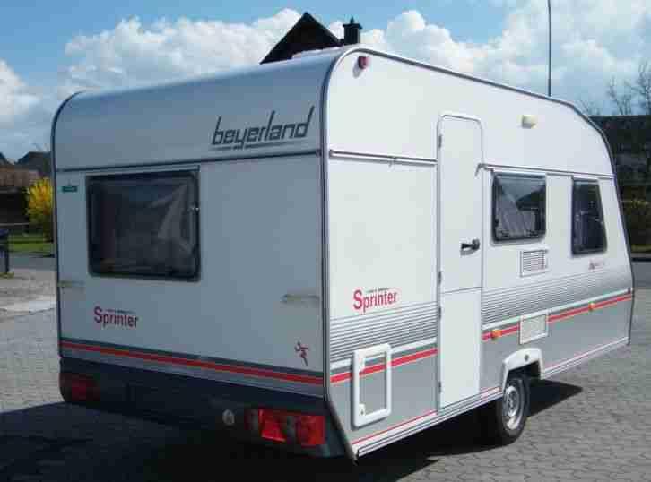 wohnwagen beyerland sprinter 440 tm t v neu wohnwagen. Black Bedroom Furniture Sets. Home Design Ideas