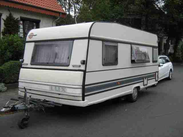 wohnwagen b rstner lux 490cm mit mover wohnwagen. Black Bedroom Furniture Sets. Home Design Ideas