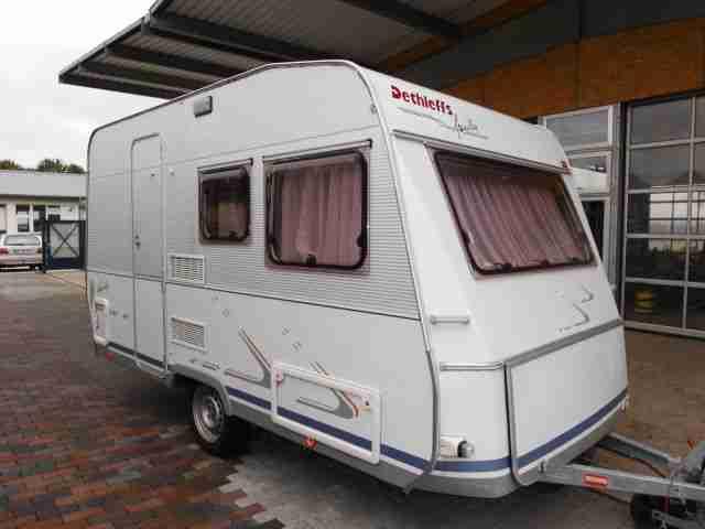 wohnwagen dethleffs new line 420tf family zwei wohnwagen wohnmobile. Black Bedroom Furniture Sets. Home Design Ideas