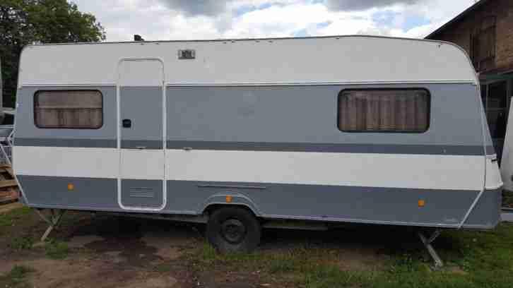 wohnwagen eriba hymer nova c 530 renoviert wohnwagen. Black Bedroom Furniture Sets. Home Design Ideas