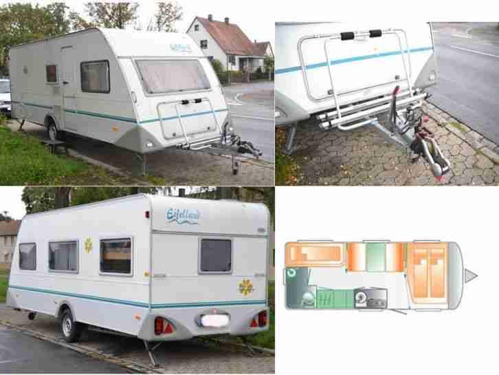 Wohnwagen Eifelland Mit Etagenbett : Knaus e holiday eifelland campanda