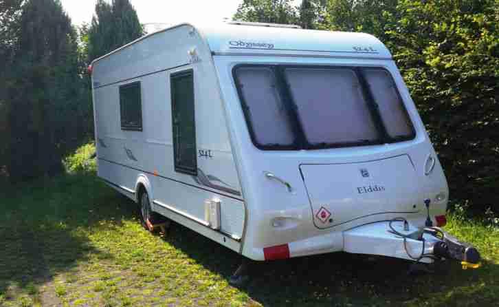 wohnwagen elddis odyssey 524l 4 bett luxus wohnwagen. Black Bedroom Furniture Sets. Home Design Ideas