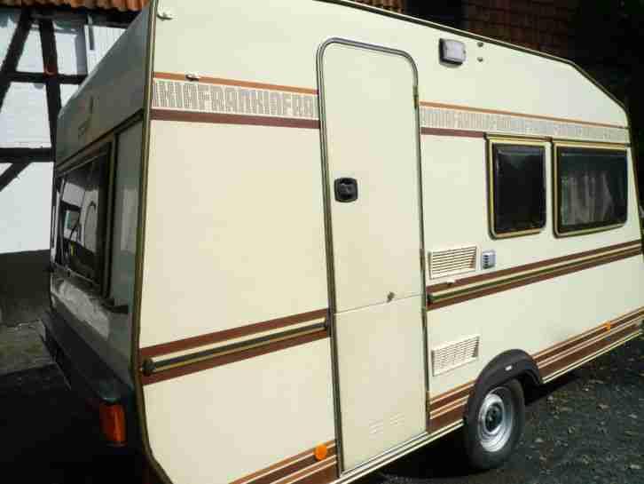 wohnwagen frankia capri 420 reisefertig mit wohnwagen wohnmobile. Black Bedroom Furniture Sets. Home Design Ideas