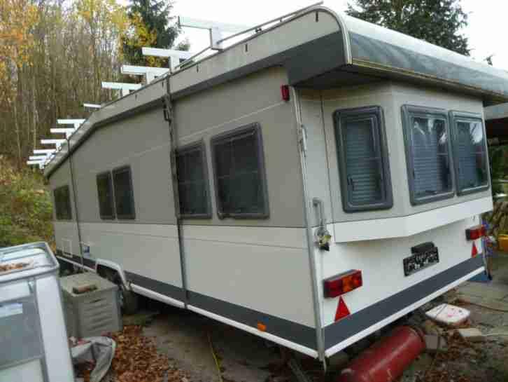 wohnwagen hobby 750 landhaus bj 12 08 mit wohnwagen wohnmobile. Black Bedroom Furniture Sets. Home Design Ideas