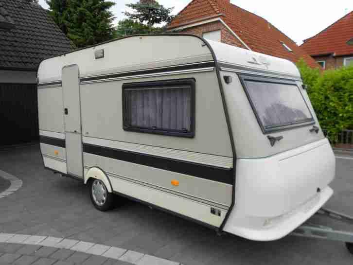 wohnwagen hobby prestige 425 t super zustand wohnwagen. Black Bedroom Furniture Sets. Home Design Ideas