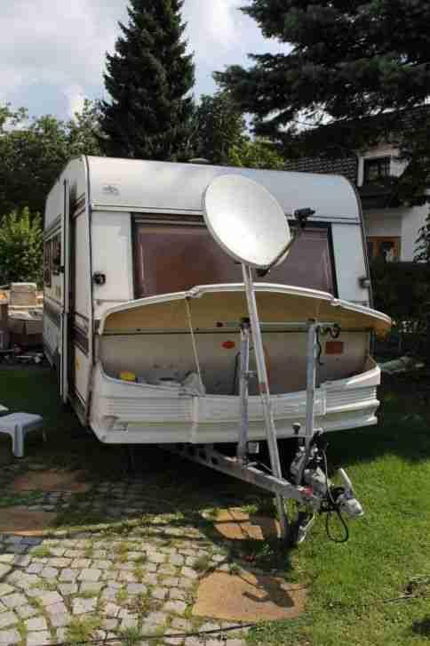 wohnwagen hobby prestige 455 bj 1985 wohnwagen wohnmobile. Black Bedroom Furniture Sets. Home Design Ideas